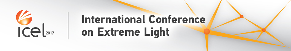 ICEL 2017 - International Conference on Extreme Light